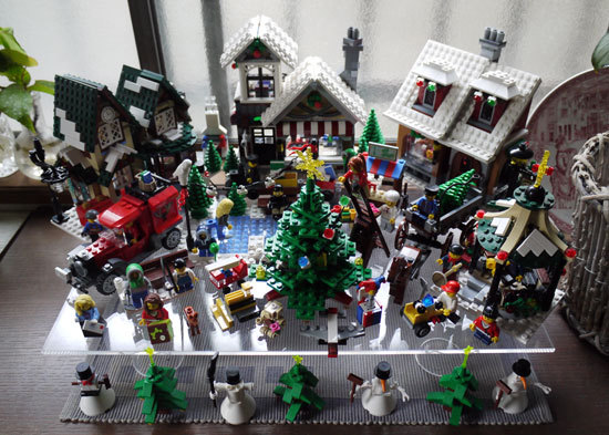 LEGOでクリスマスの飾り付け 1.jpg