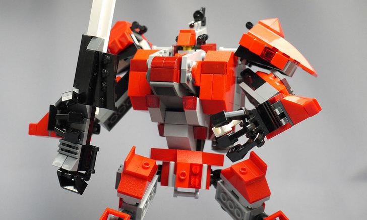LEGOで赤いロボットを作った1-37.jpg