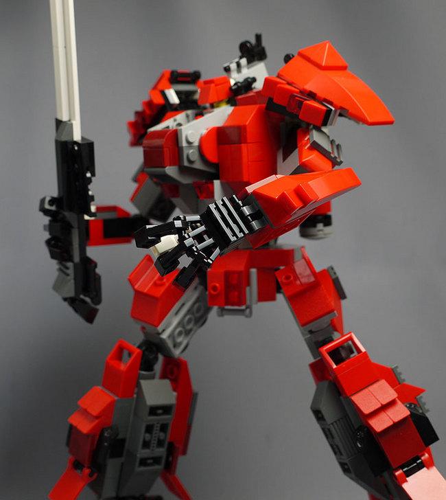 LEGOで赤いロボットを作った1-43.jpg