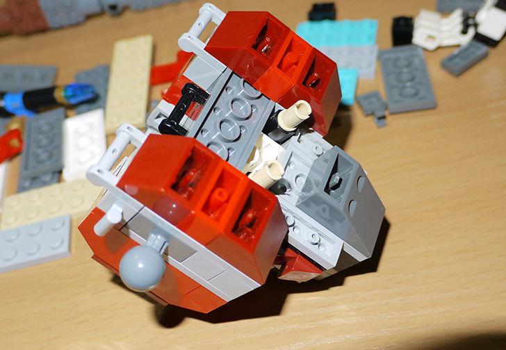 LEGOロボを作り始めた。ミニフィグ-サイズのリアルスケール物1-12.jpg