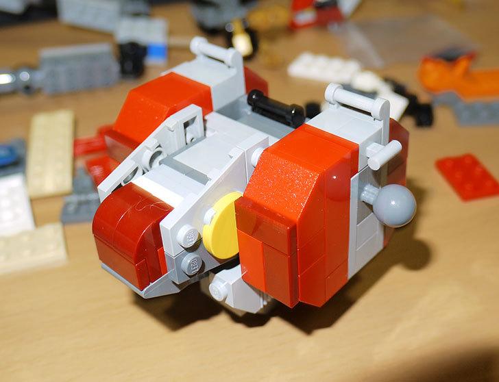 LEGOロボを作り始めた。ミニフィグ-サイズのリアルスケール物1-13.jpg