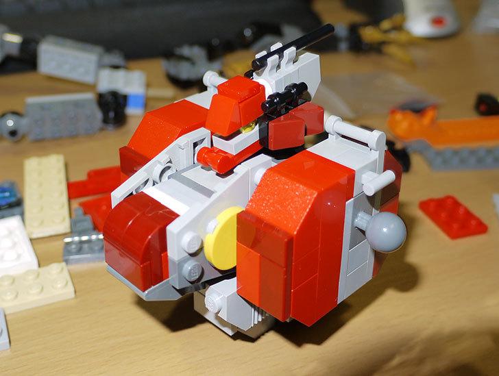 LEGOロボを作り始めた。ミニフィグ-サイズのリアルスケール物1-14.jpg