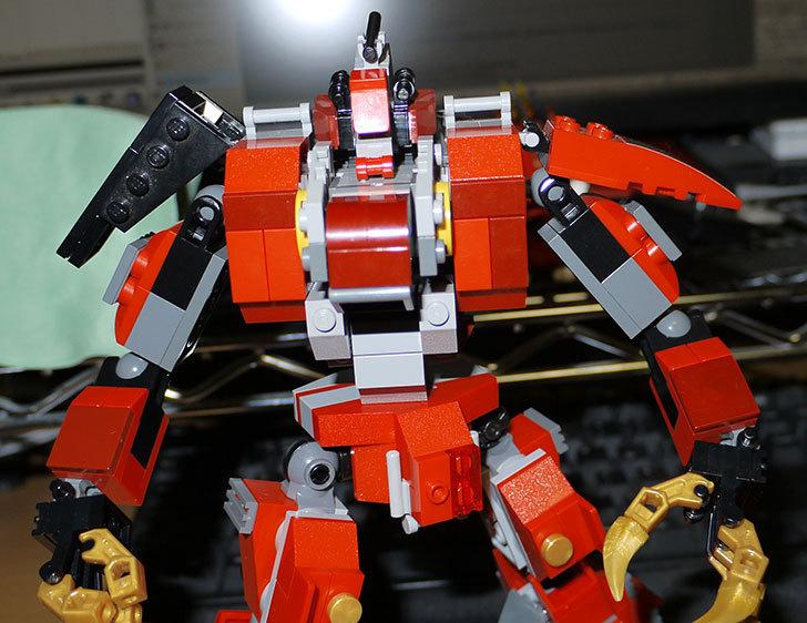 LEGOロボを作り始めた。ミニフィグ-サイズのリアルスケール物1-22.jpg