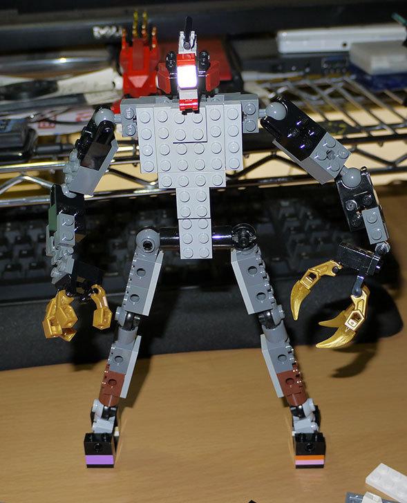 LEGOロボを作り始めた。ミニフィグ-サイズのリアルスケール物1-7.jpg