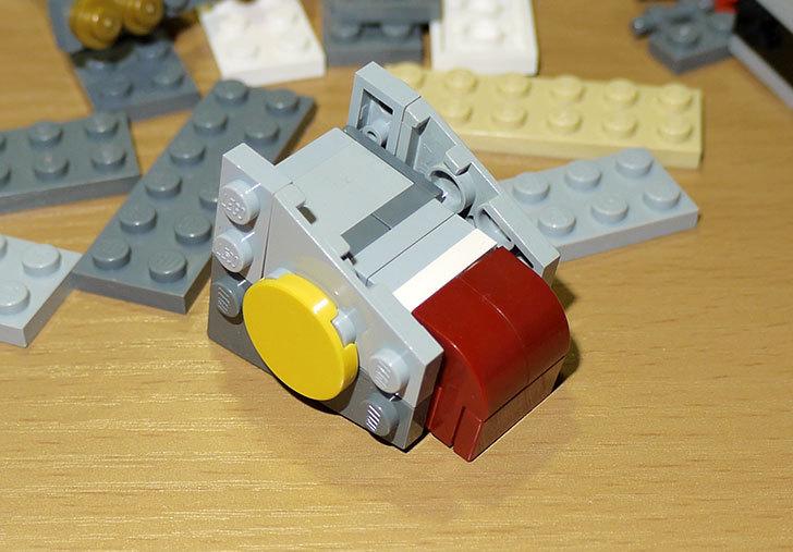 LEGOロボを作り始めた。ミニフィグ-サイズのリアルスケール物1-9.jpg