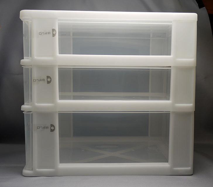 LEGO収納用に小物引出しケース浅2深1段-A4をカインズで買ってきた3.jpg