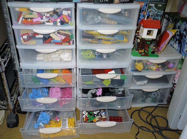 LEGO収納用に小物引出しケース浅2深1段-A4をカインズで買ってきた5.jpg