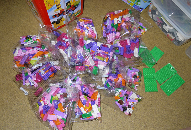 LEGO基本セットのパーツ整理をした2.jpg