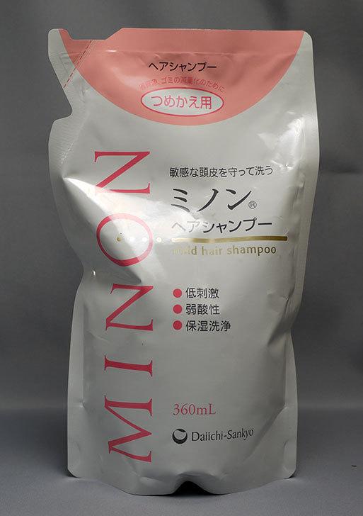 MINON(ミノン)-ヘアシャンプー-詰替用-360mLを買った1.jpg