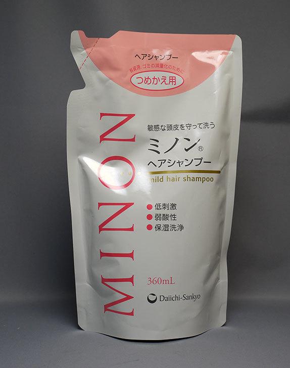 MINON(ミノン)-ヘアシャンプー-詰替用-360mLを追加で買った1.jpg