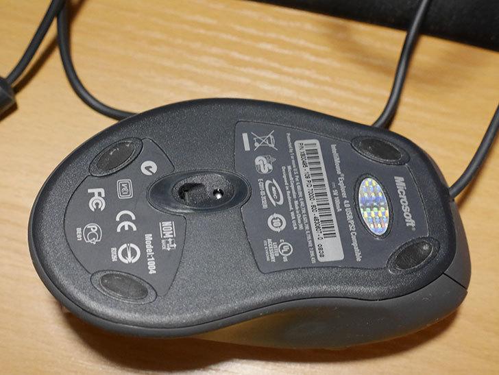 Microsoft IntelliMouse Explorer 4.0の修理をした。2020年-005