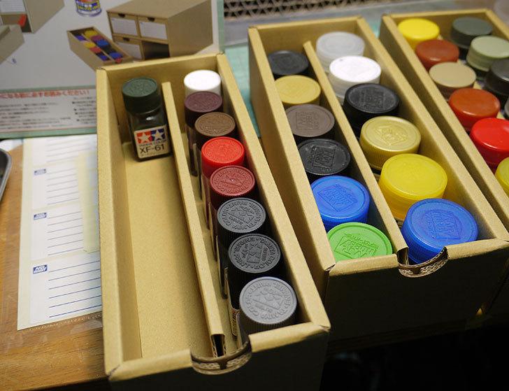 Mr.カラー&水性ホビーカラー収納BOXがamazonアウトレットに有ったので買った10.jpg
