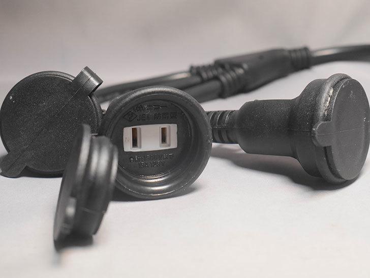 NICOH(ニコー) 防雨型 分配コード 3分配 15A 屋外防雨型の3分配コードを買った-004.jpg