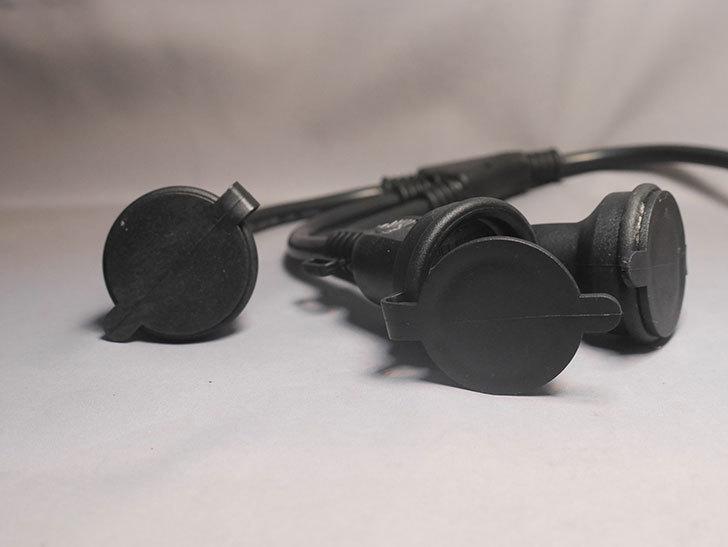NICOH(ニコー) 防雨型 分配コード 3分配 15A 屋外防雨型の3分配コードを買った-006.jpg