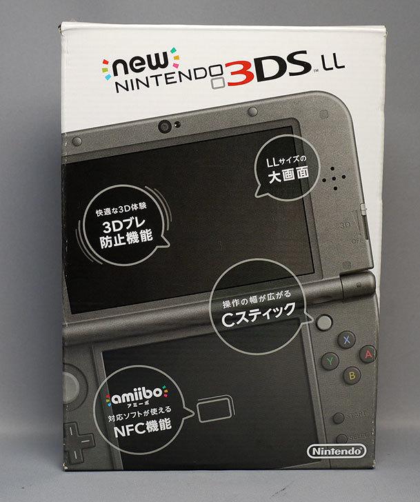 New-ニンテンドー3DS-LL-メタリックブラックが届いた2.jpg