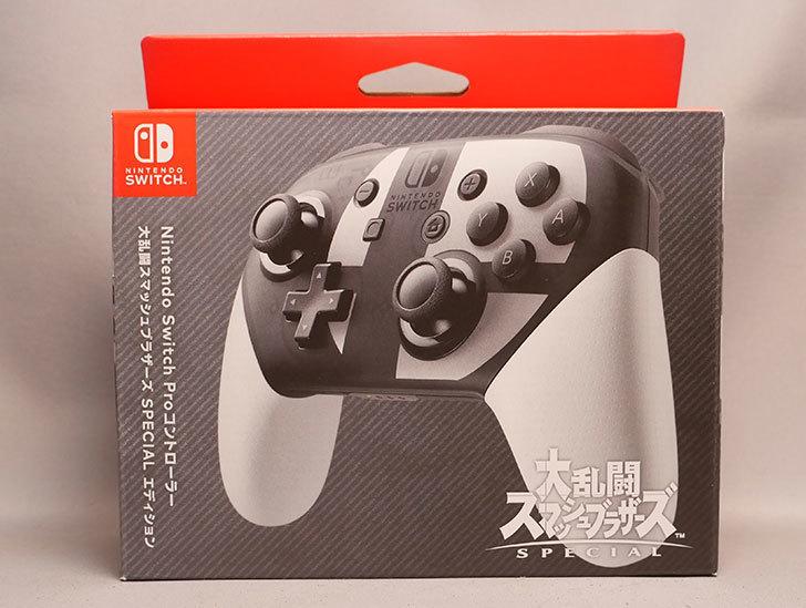 Nintendo-Switch-Proコントローラー-大乱闘スマッシュブラザーズ-SPECIALエディションが来た1.jpg