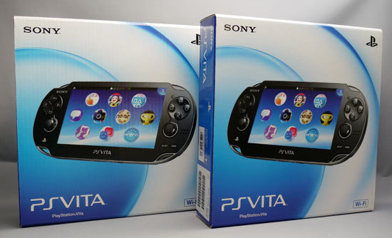 PlayStation Vitaが2台来た。1.jpg