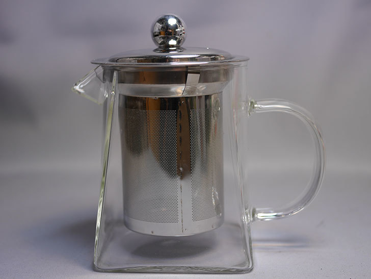 PluieSoleil ティーポット 耐熱ガラス 350mlを買った 紅茶ポット-006.jpg