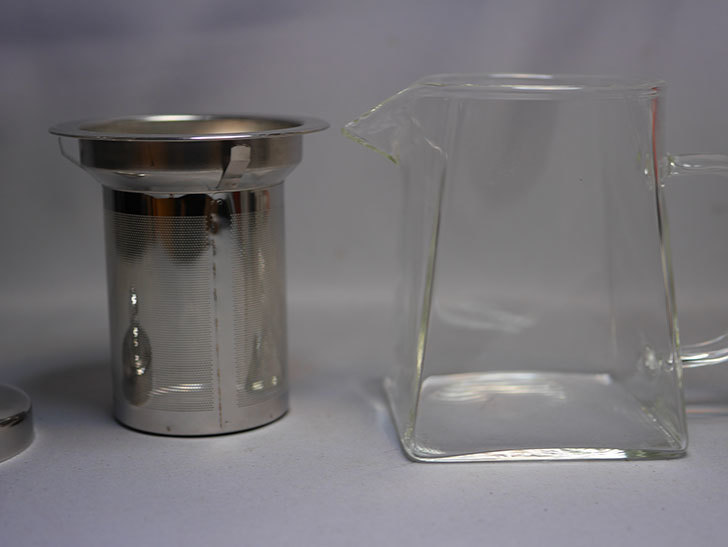 PluieSoleil ティーポット 耐熱ガラス 350mlを買った 紅茶ポット-007.jpg