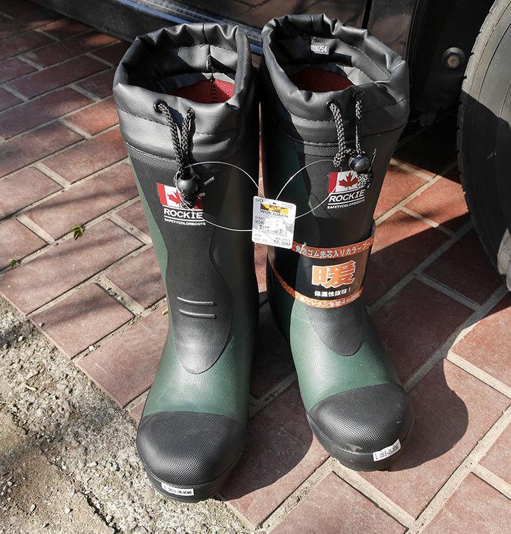 ROCKIEの防寒長靴をワークマンで買って来た。2018年-1.jpg