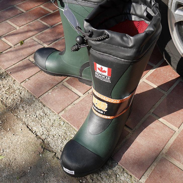 ROCKIEの防寒長靴をワークマンで買って来た。2018年-2.jpg