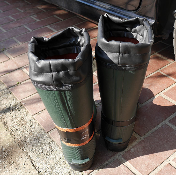 ROCKIEの防寒長靴をワークマンで買って来た。2018年-3.jpg
