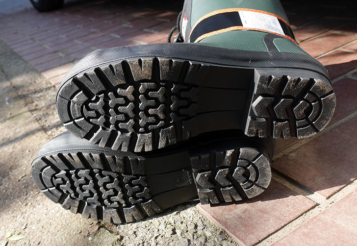 ROCKIEの防寒長靴をワークマンで買って来た。2018年-6.jpg