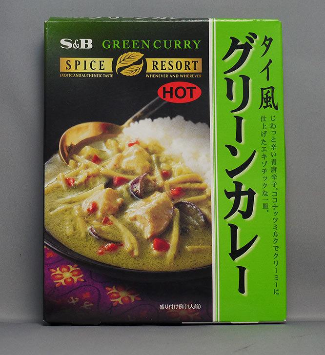 S&B-スパイスリゾート-タイ風グリーンカレーHOT-200gを買って来た1.jpg