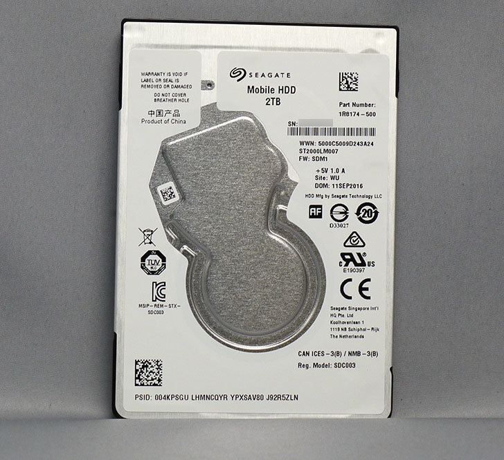 Seagate-ST2000LM007をPS4のHDD換装用に買った1.jpg