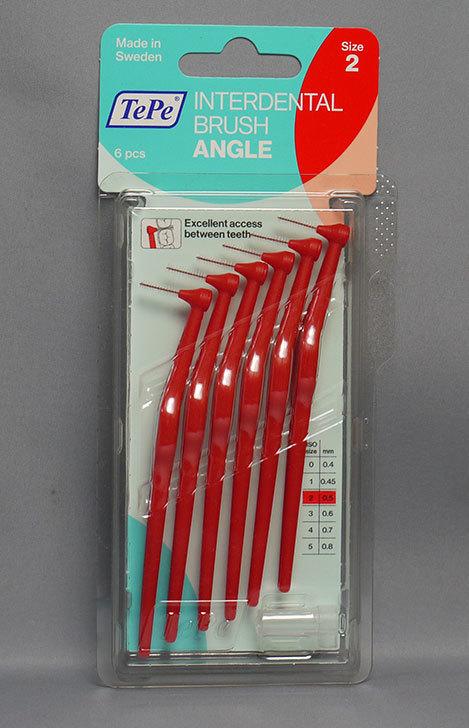 TePe-テペ-アングル-歯間ブラシ 6本入-Size2-レッド(0.5mm)を買って来た1.jpg