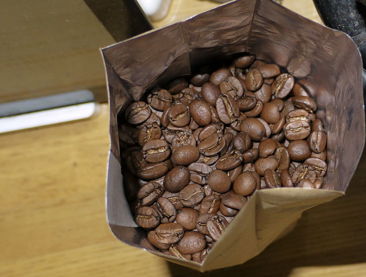 ToNeGaWa-coffeeでブラジル産のコンゴニアスN-City-ブルボン種の豆を買った3.jpg