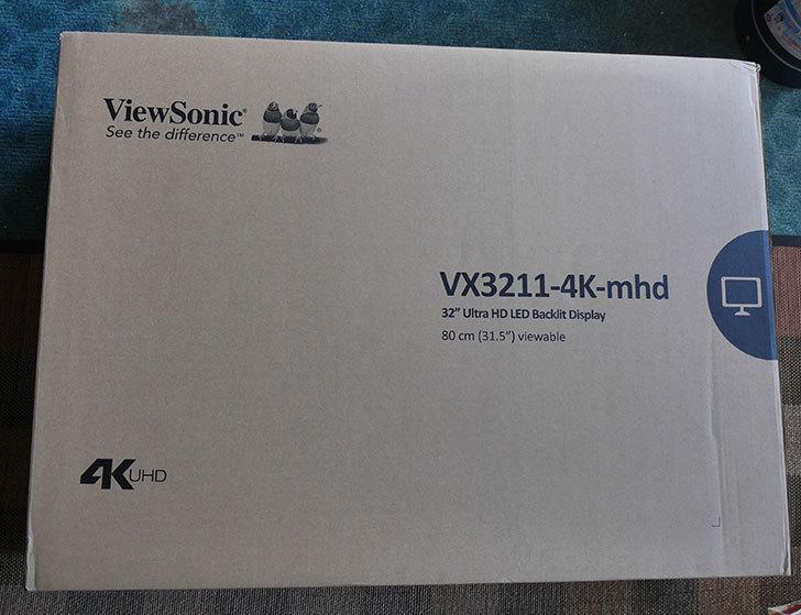 ViewSonic VX3211-4K-MHD-7をNTT-X Storeで買った。2020年-001.jpg