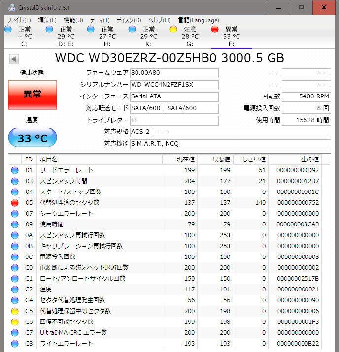 Western-Digital-WD-Blue-WD40EZRZ-RT2を4台買った2.jpg