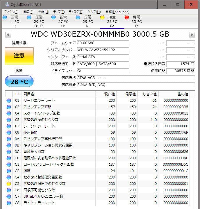 Western-Digital-WD-Blue-WD40EZRZ-RT2を4台買った3.jpg