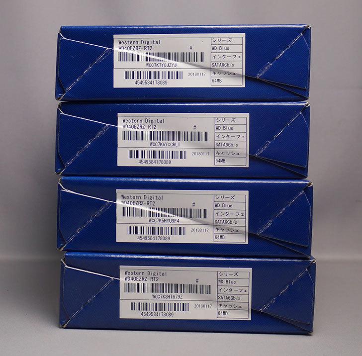 Western-Digital-WD-Blue-WD40EZRZ-RT2を4台買った4.jpg
