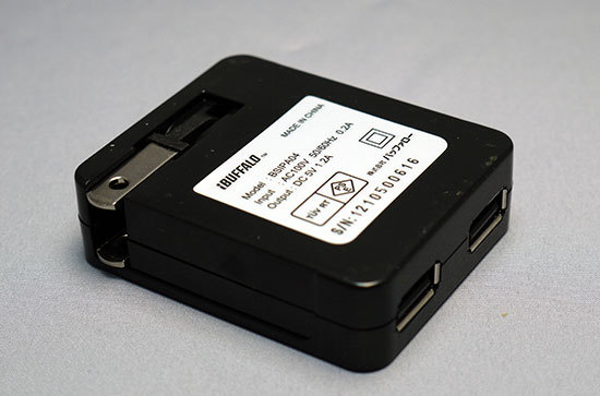 iBUFFALO-BSIPA04BKを買った。USB充電器3.jpg