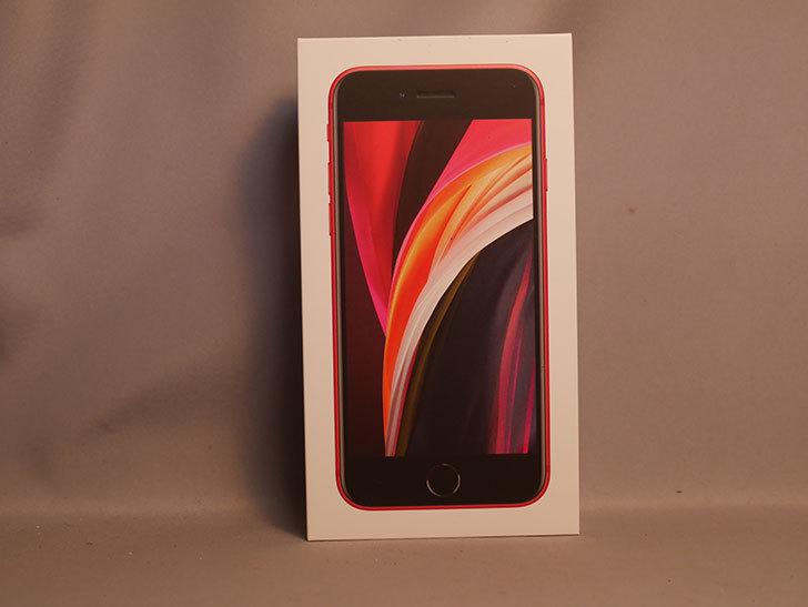 iPhone SE(2020) 256GB (PRODUCT)RED  SIMフリー [MHGY3J_A]を買った。2021年-001.jpg