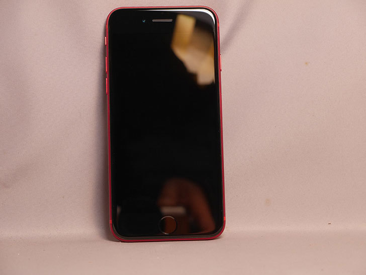 iPhone SE(2020) 256GB (PRODUCT)RED  SIMフリー [MHGY3J_A]を買った。2021年-002.jpg