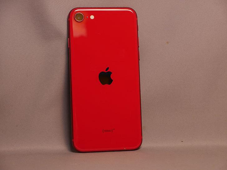 iPhone SE(2020) 256GB (PRODUCT)RED  SIMフリー [MHGY3J_A]を買った。2021年-003.jpg