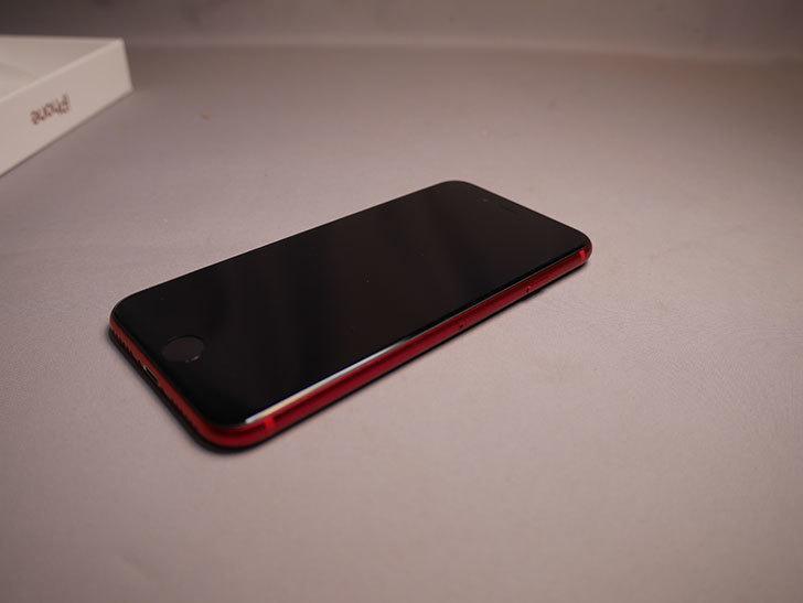 iPhone SE(2020) 256GB (PRODUCT)RED  SIMフリー [MHGY3J_A]を買った。2021年-005.jpg